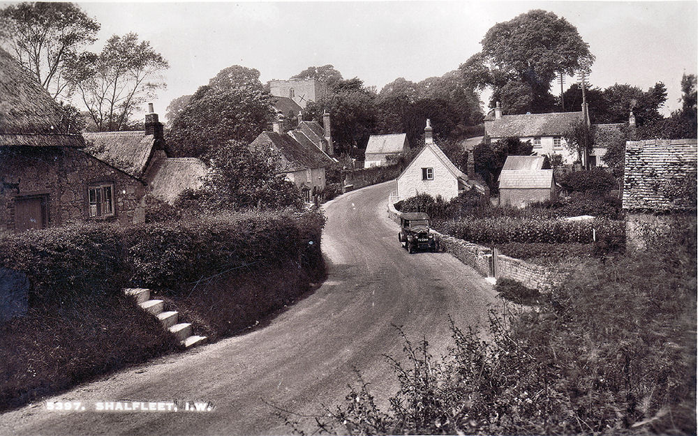 Shalfleet village 1930