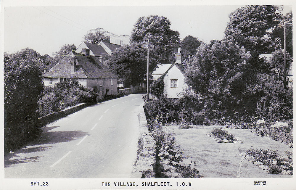 Shalfleet Village 1950